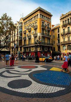Pza.de la Boqueria. Barcelona