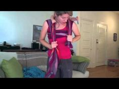 BabyBeWorn Double Hammock Double Rings (DHDR) Back Carry - YouTube #30daywrapchallenge #day19 #bwiboston