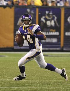 Joe Webb, MN Vikings Vikings Football, Best Football Team, Minnesota Vikings, Viking 1, Purple Reign, Seahawks, Ducks, Oklahoma, Athletes