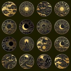 That would be nice in gold work. - That would be nice in gold work. Geometric Tatto, Gold Work, Moon Art, Art Inspo, Art Drawings, Tattoo Drawings, Tattoo Designs, Tattoo Ideas, Illustration Art