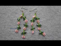 Bead Loom Bracelets, Bracelet Crafts, Jewelry Crafts, Bead Embroidery Jewelry, Beaded Jewelry Patterns, How To Make Earrings, Beaded Earrings, Beaded Chocker, Fusion Beads
