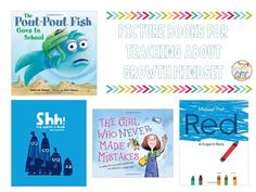 Growth Mindset mentor text ideas for the primary classroom