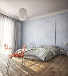Bedroom interior by Goran Glisic #3dsmax #vray #ps