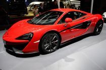 At the Shanghai auto show, McLaren unveiled the second model in its Sports Series lineup, the 540C Coupe. Like the previously-shown 570S, the new model brings the automaker's racing DNA to a new, lower-priced segment. The McLaren 540C Coupe will be the most attainable model in the brand's portfolio.