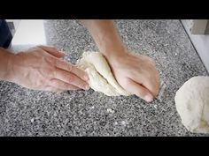 BREAD 101 -- basic white bread: kneading techniques - YouTube
