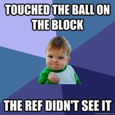 hahaha reminds me soo much of high school volleyball.