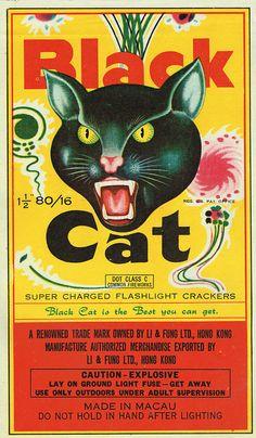 Black Cat C5 80-16 Firecracker Brick Label from Mr Brick Label's flickr