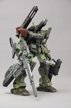 1/144 Full Armor GM Sniper - Custom Build - Gundam Kits Collection News and Reviews