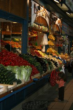 Market in Budapest....loved the colors and the smells.