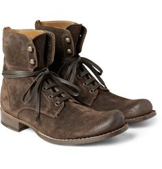 John VarvatosSix o' Six Convertible Suede Boots (shame they've sold out!)