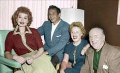 The cast of I Love Lucy