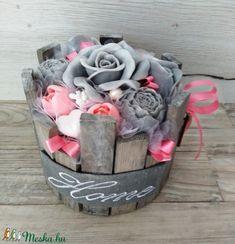 Szappan Csokor Home Rózsa Box - Meska.hu Box, Snare Drum