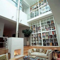 Library! interiors