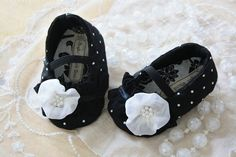 Little Black Dress baby shoes