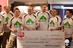 World of Tanks professional team Fulcrum Gaming wins the IPL $ 10,000 WoT Tournament during SXSW Gaming 2013
