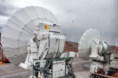 Rainy day at ALMA OSF