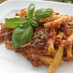 """Baked Ziti IV 