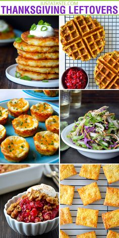 Thanksgiving Leftovers Recipes from justataste.com #recipe #thanksgiving