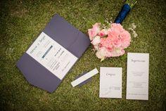 Blue wedding invitation Pkl Fotografía  © Pankkara Larrea 2016 https://pklfotografia.com