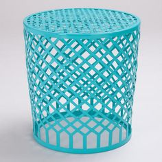 blue landon stool