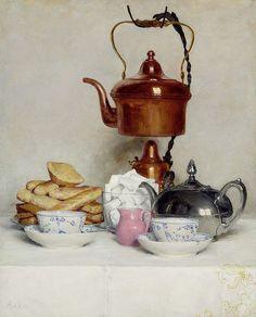 Albert Anker Teeservice 1910