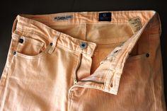 AG Adriano Goldschmeid size 28 apricot skinny legging #Swapdom