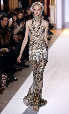 Paris Haute Couture: Zuhair Murad spring/summer 2013