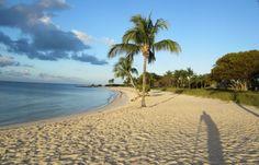 The shadow of the photographer, Florida Keys.