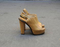 Now Soul High Heel Platform Sandal at no 6 store