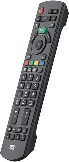 One For All Panasonic TV Replacement remote - Works with ALL Panasonic televisions - Ideal TV replacement remote control Panasonic Tvs, Panasonic Televisions, Range Cable, Tv Remote Controls, Sem Internet, Led, Learning, Mobile Phones, Display