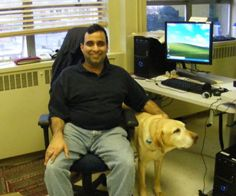 Neil Squire Society, Employ-Ability participant, Harmeet. Harmeet, who is blind, started his training with the Utopia Massage Therapy School this past winter. He is looking forward to running his own business when he gets more experience as a Massage Therapist. Read the full story at www.neilsquire.ca