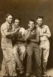 Photographic Portraiture (1939-1946) by Mike Disfarmer née Mike Meyers (1884-1959) a local photographer in Heber Springs, Arkansas. His 'penny portraits' are a record of small town Americans.