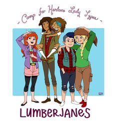 Lumberjanes by KikiManrique.deviantart.com on @DeviantArt
