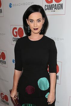 WHO: Katy Perry WHERE: GO Campaign Gala, Los Angeles WHEN: November 12, 2015