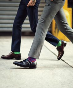 double monks preppy socks