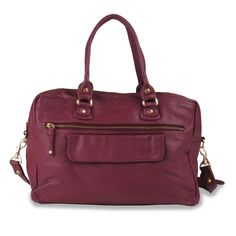 laurie (grape wine) Sheep Leather, Wallet, Bags, Wine, Accessories, Fashion, Nice Purses, Luxury Handbags, Red Handbag