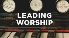 """The title """"Worship Leader"""" doesn't exist in Scripture. In fact, most of what we think a worship leader is today has been shaped culturally over the course of the last 50–60 years. While Scripture doesn't explicitly describe a worship leader, it also doesn't prohibit the role."""