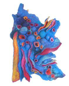 wall art- sculptural pieces.