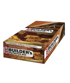 CLIF BUILDERS 20g PROTEIN BAR (12 Bars) - A great tasting protein bar that makes every ingredient count so you can get the most out of your workout.