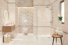 O colectie de placi ceramice potrivita pentru o baie in tonuri calde si un farmec aparte. Bathtub, Marketing, Bathroom, Modern, Home Decor, Ideas, Dominatrix, Standing Bath, Washroom