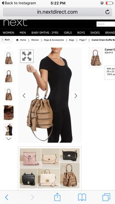 Great bags n dresses on next.com