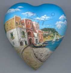 Sassi dipinti di Roberto Rizzo - Paesaggi e varie
