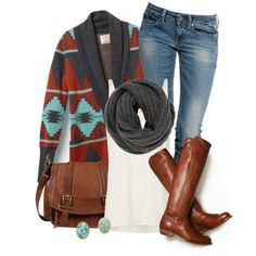 Very casual outfit for the fall Mode Outfits, Casual Outfits, Fashion Outfits, Womens Fashion, Fashion Trends, Fashionista Trends, Country Outfits, Country Girls, Fashion Clothes