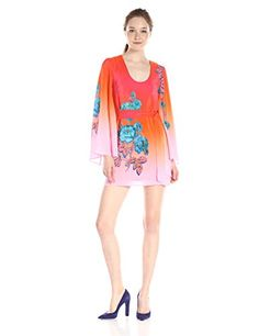 Nanette Lepore Neon Nights Dress in Coral - http://www.womansindex.com/nanette-lepore-neon-nights-dress-in-coral/ #NanetteLepore