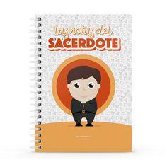Cuaderno XL - Las notas del sacerdote, encuentra este producto en nuestra tienda online y personalízalo con un nombre. Notebook, Cover, Priest, Notebooks, Report Cards, Store, The Notebook, Exercise Book