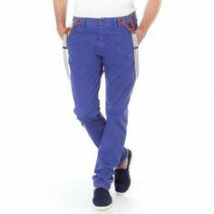 Pantalon Dodson mazarine blue #FREEMANTPORTER #Pants #Man