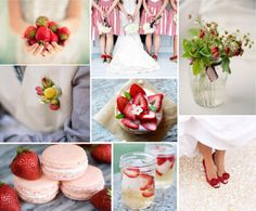 If I ever get married, I might just have to have a strawberry fields (forever) wedding...