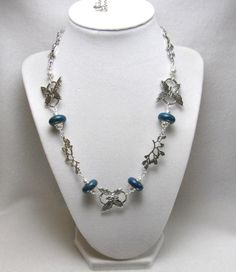 Butterfly Linked - Jewelry creation by Linda Foust