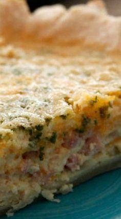 Ham & Cheese Quiche