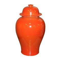 Orange Crackle Porcelain Temple Jar is made of fine porcelains and hand painted with classic Asian designs. An iconic style that will always be in style no matter the trend. Legends of Asia, is a leading designer and supplier of fine products from Asia